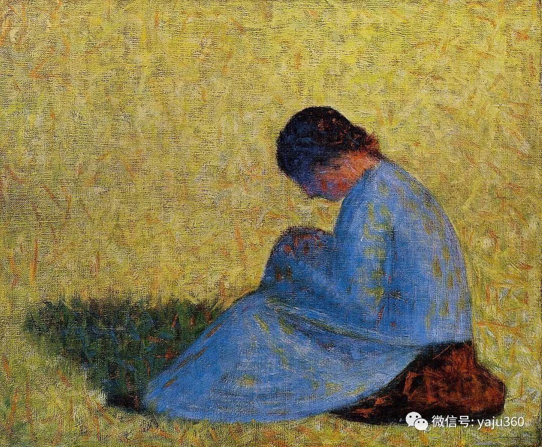 点彩派代表 法国Georges Seurat插图34