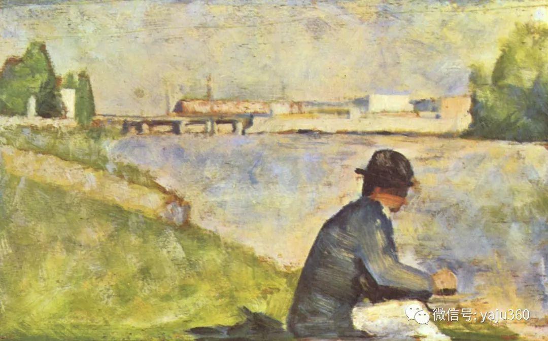 点彩派代表 法国Georges Seurat插图37
