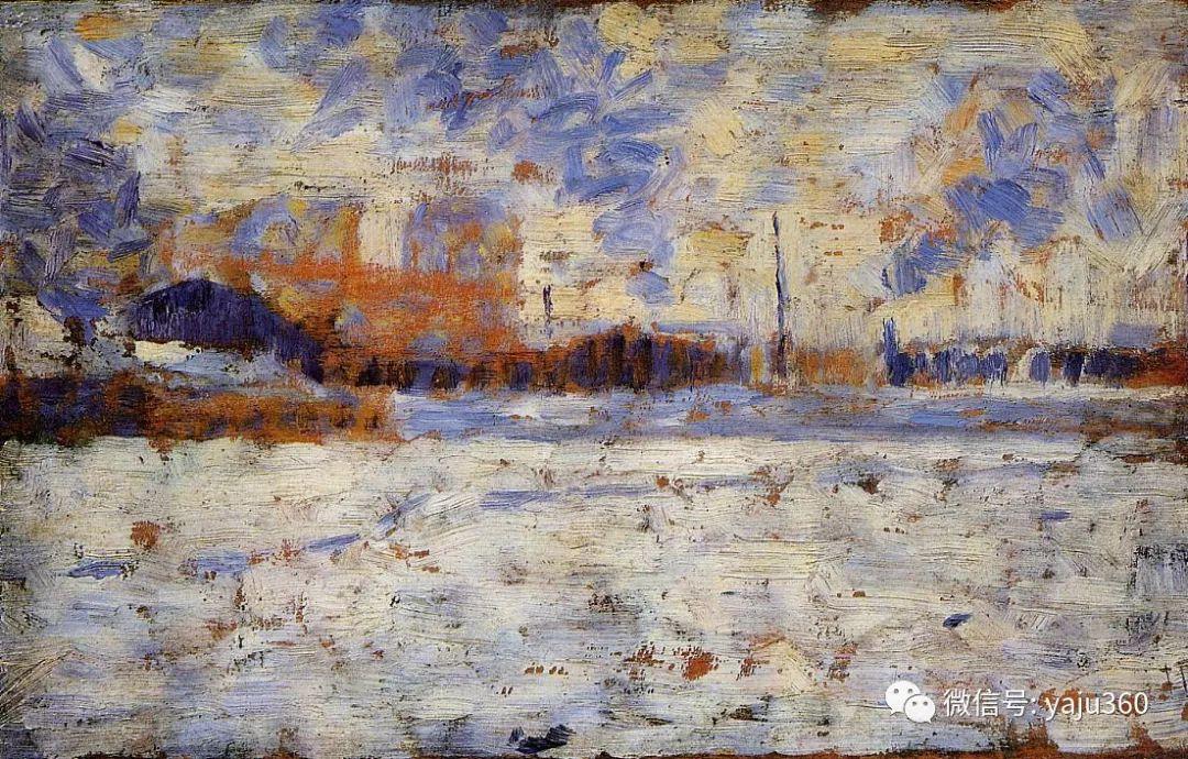 点彩派代表 法国Georges Seurat插图38