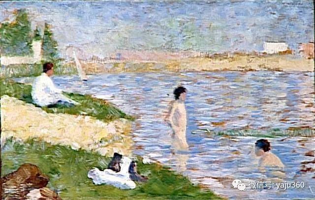 点彩派代表 法国Georges Seurat插图40