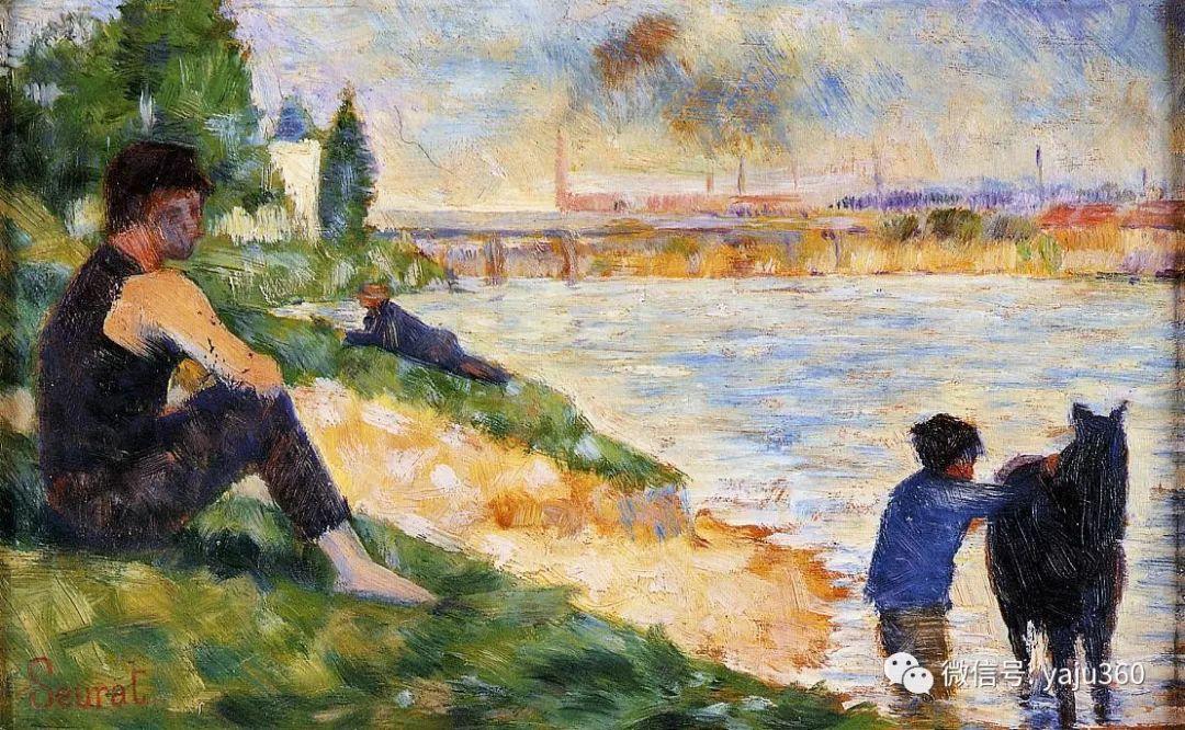 点彩派代表 法国Georges Seurat插图41
