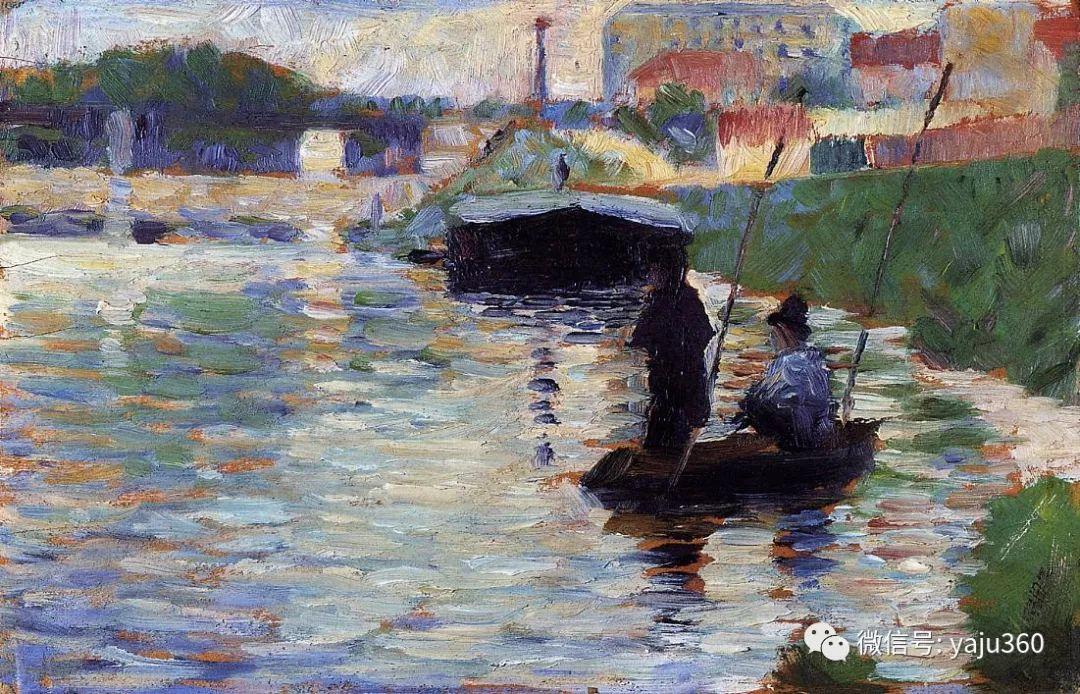 点彩派代表 法国Georges Seurat插图42
