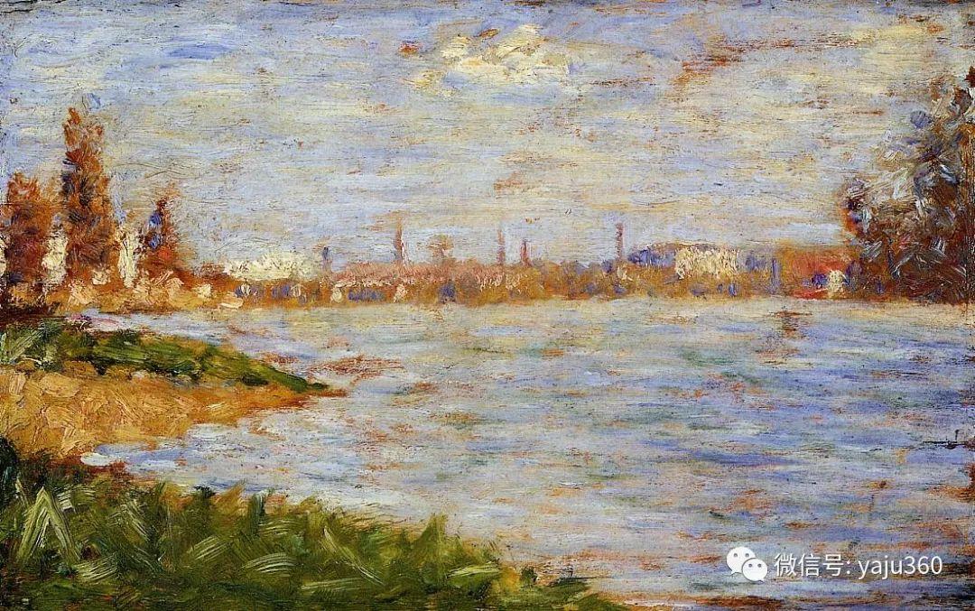 点彩派代表 法国Georges Seurat插图43