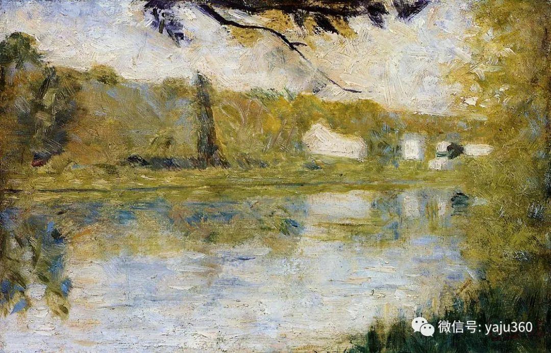 点彩派代表 法国Georges Seurat插图44
