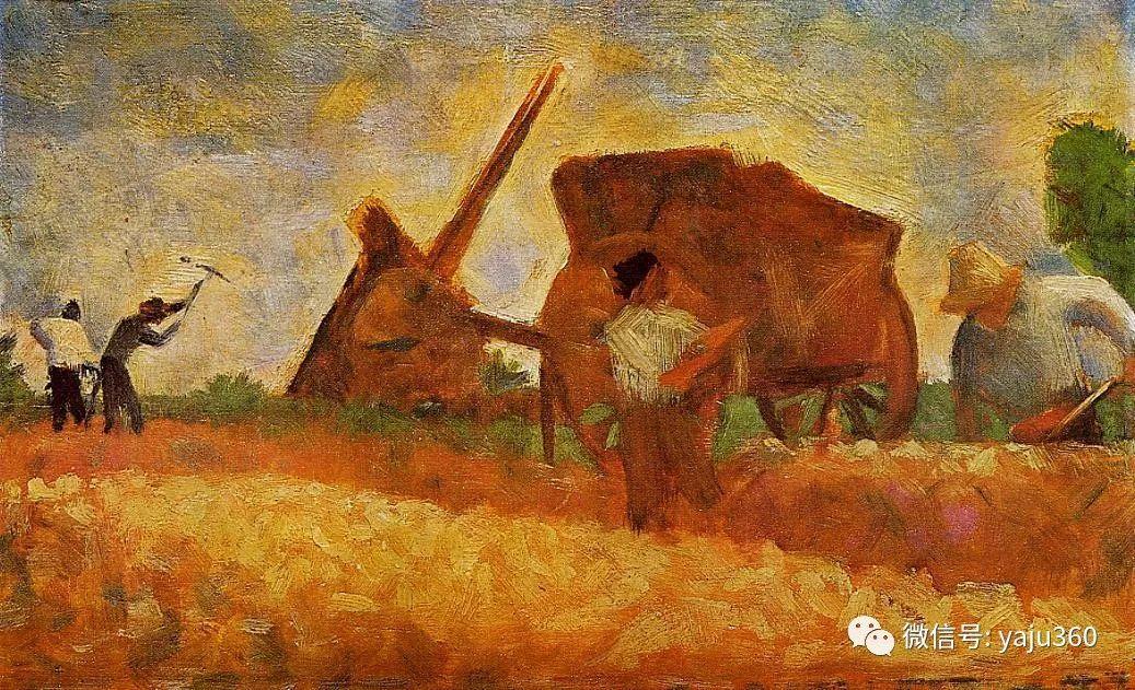 点彩派代表 法国Georges Seurat插图45