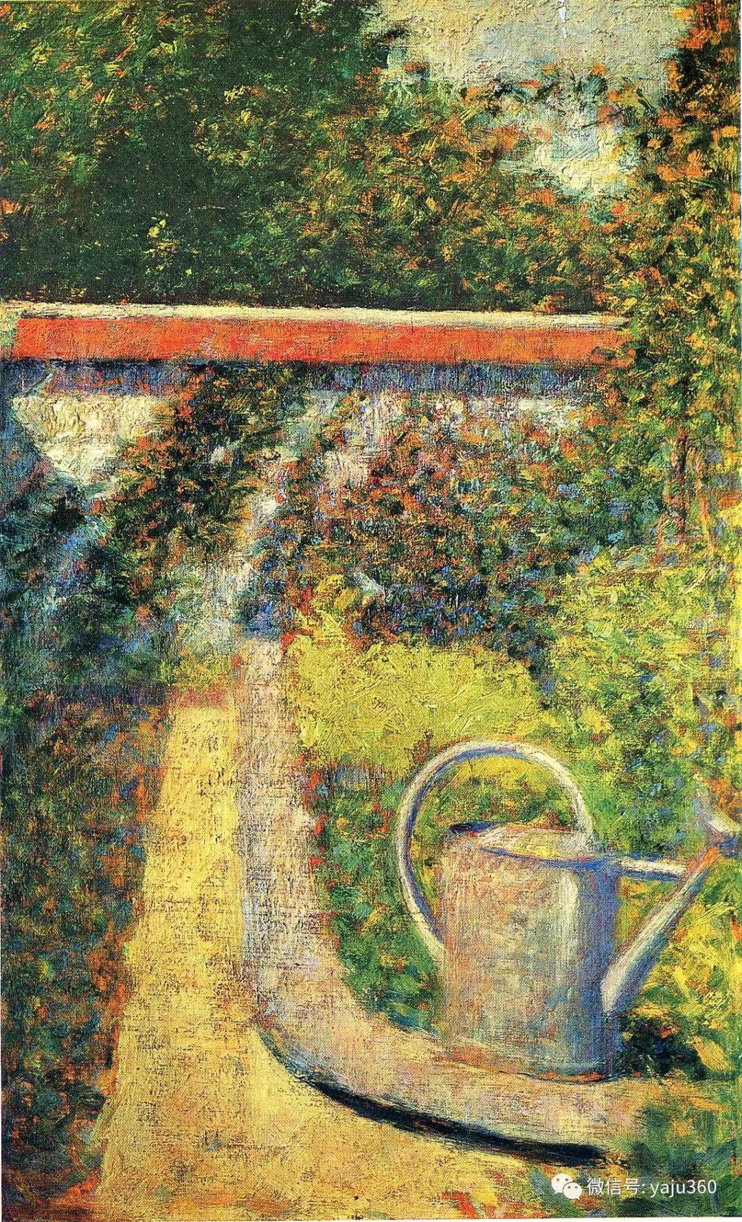 点彩派代表 法国Georges Seurat插图46