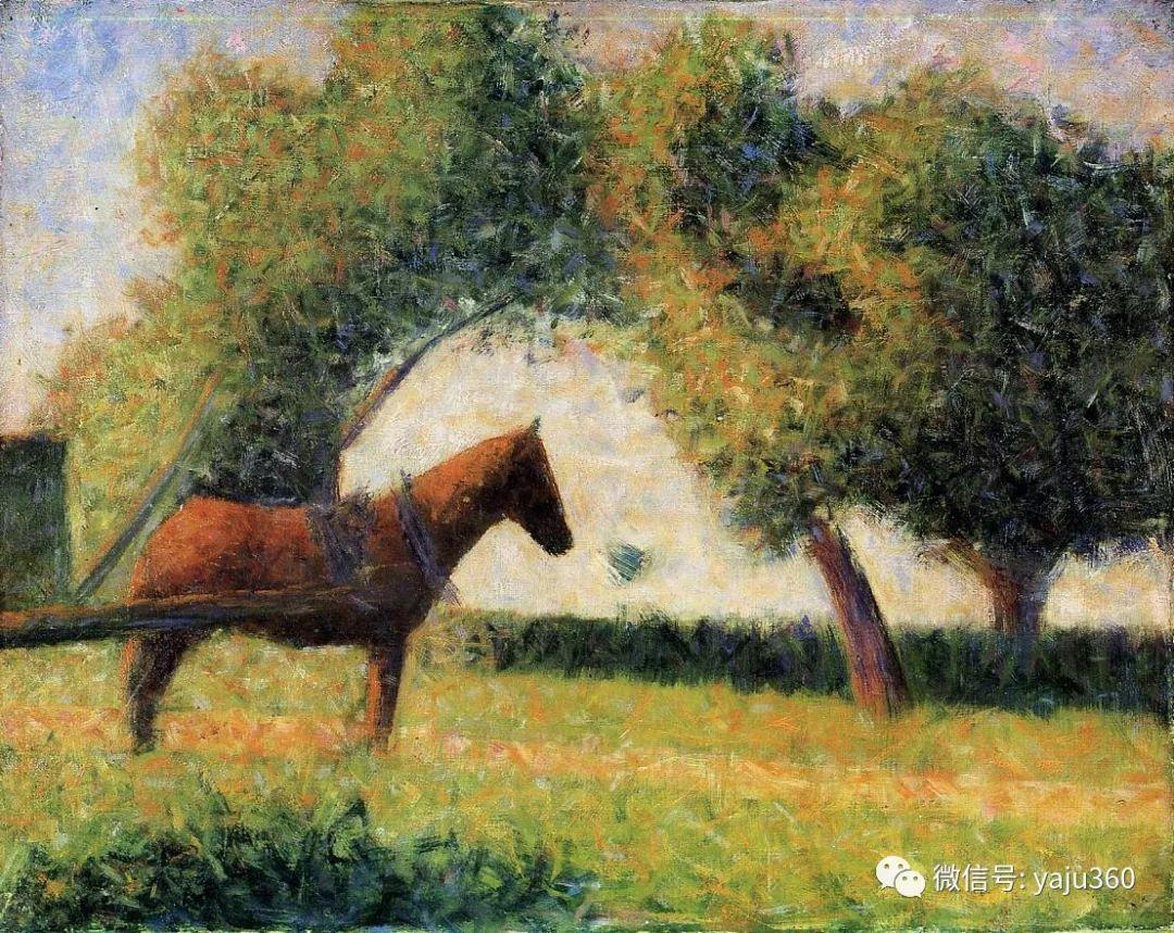 点彩派代表 法国Georges Seurat插图53