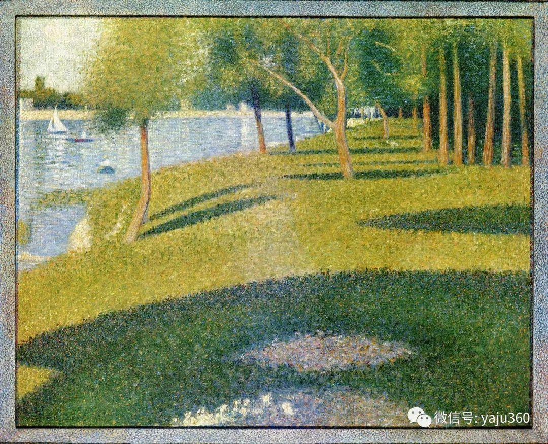 点彩派代表 法国Georges Seurat插图54