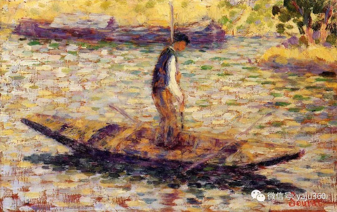 点彩派代表 法国Georges Seurat插图56