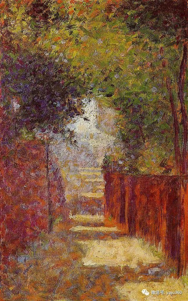 点彩派代表 法国Georges Seurat插图57