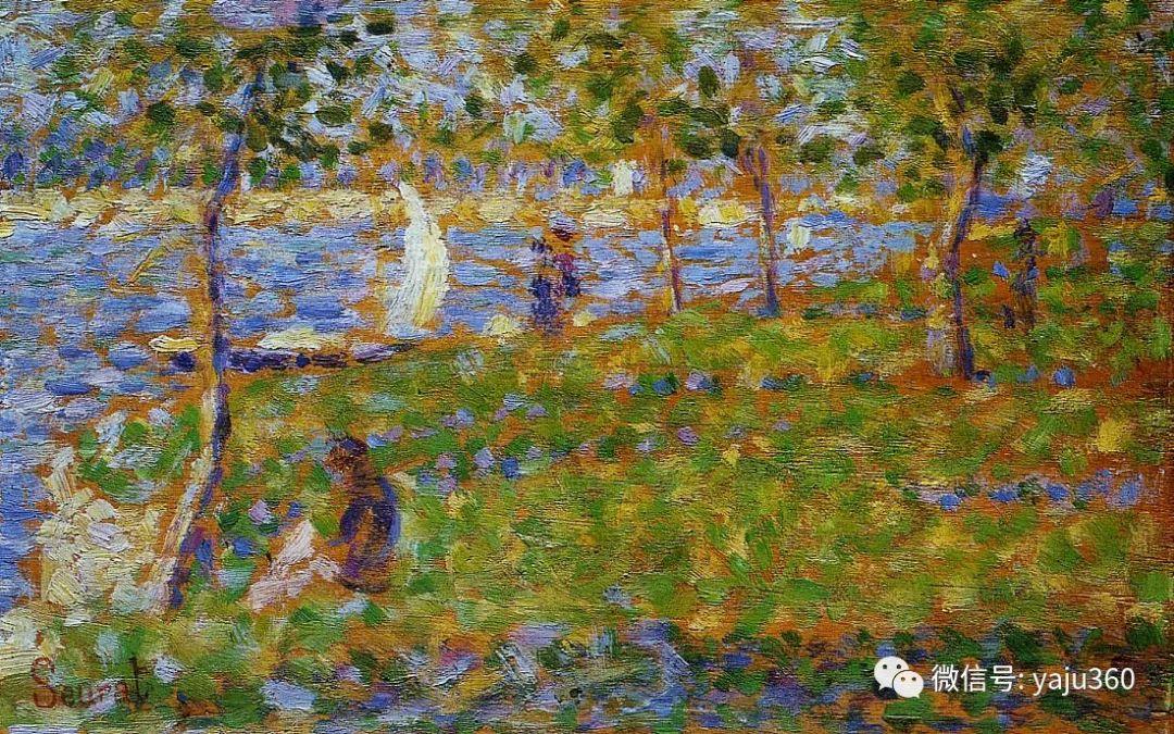点彩派代表 法国Georges Seurat插图58