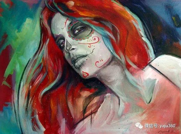 肖像绘画 Jorge Monreal作品欣赏插图1