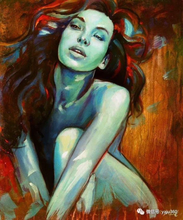 肖像绘画 Jorge Monreal作品欣赏插图3