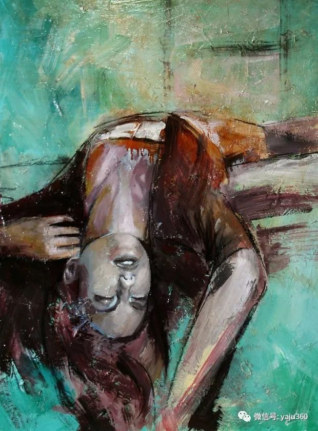 肖像绘画 Jorge Monreal作品欣赏插图6