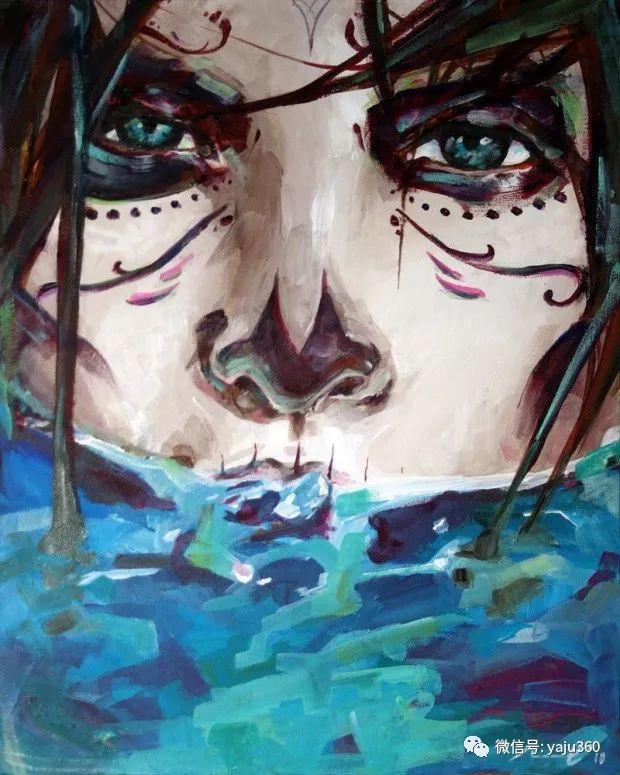 肖像绘画 Jorge Monreal作品欣赏插图7