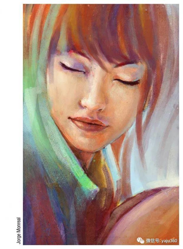 肖像绘画 Jorge Monreal作品欣赏插图8
