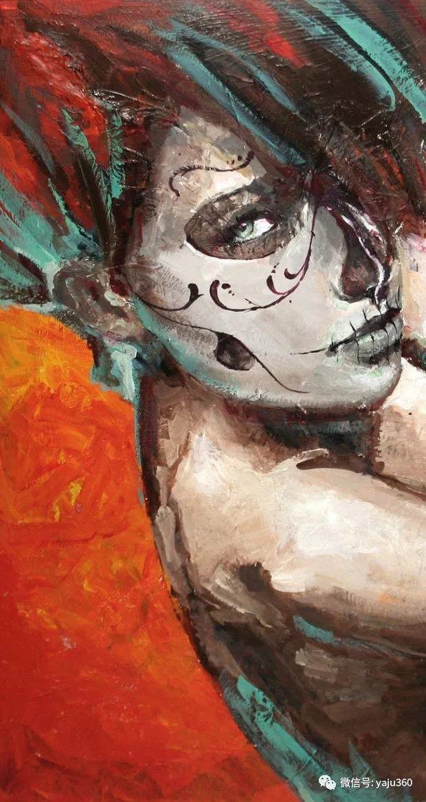 肖像绘画 Jorge Monreal作品欣赏插图9