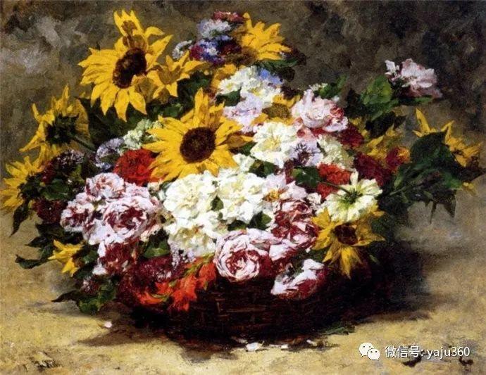 花卉静物 法国画家Georges Jeannin插图3