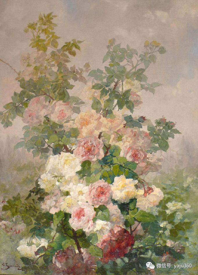 花卉静物 法国画家Georges Jeannin插图5