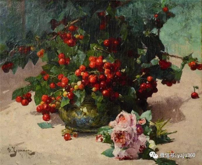花卉静物 法国画家Georges Jeannin插图7