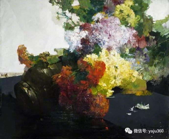 花卉静物 法国画家Georges Jeannin插图9