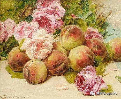 花卉静物 法国画家Georges Jeannin插图11