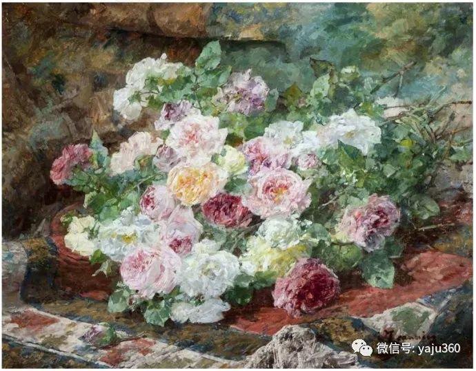 花卉静物 法国画家Georges Jeannin插图13
