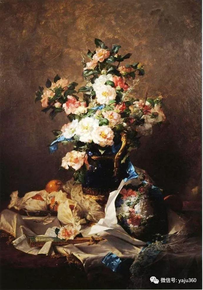 花卉静物 法国画家Georges Jeannin插图15