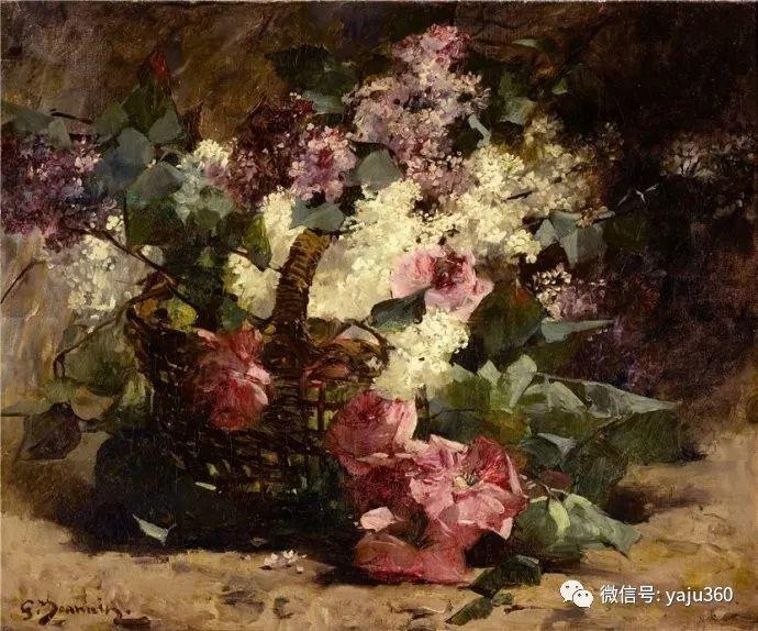 花卉静物 法国画家Georges Jeannin插图17