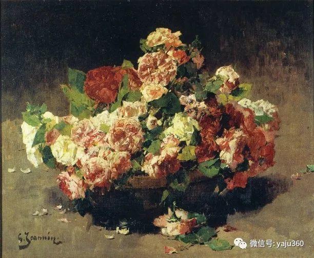 花卉静物 法国画家Georges Jeannin插图19