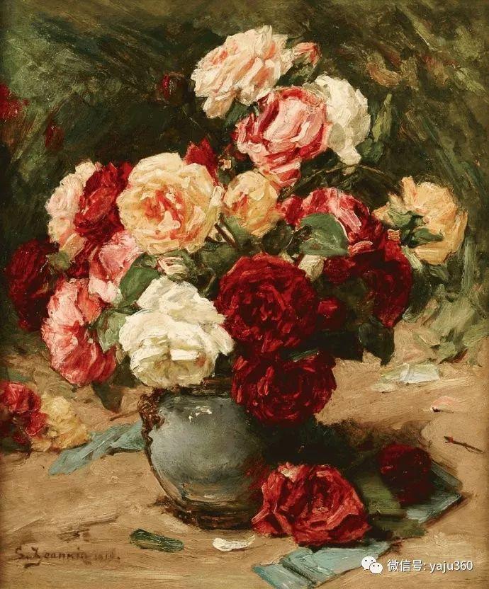 花卉静物 法国画家Georges Jeannin插图21