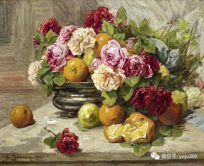 花卉静物 法国画家Georges Jeannin插图23
