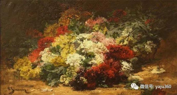 花卉静物 法国画家Georges Jeannin插图25