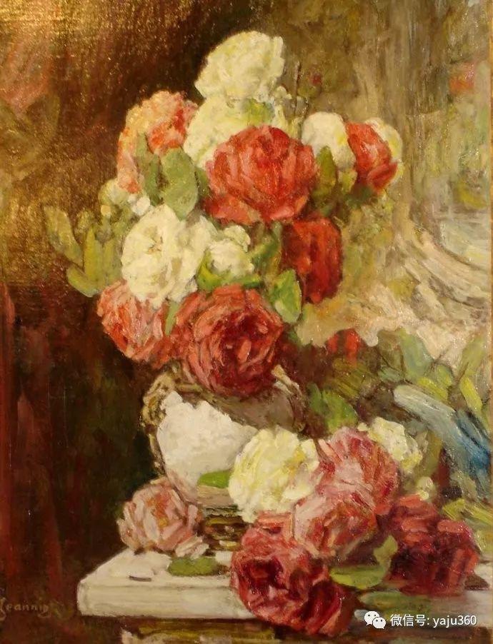 花卉静物 法国画家Georges Jeannin插图27