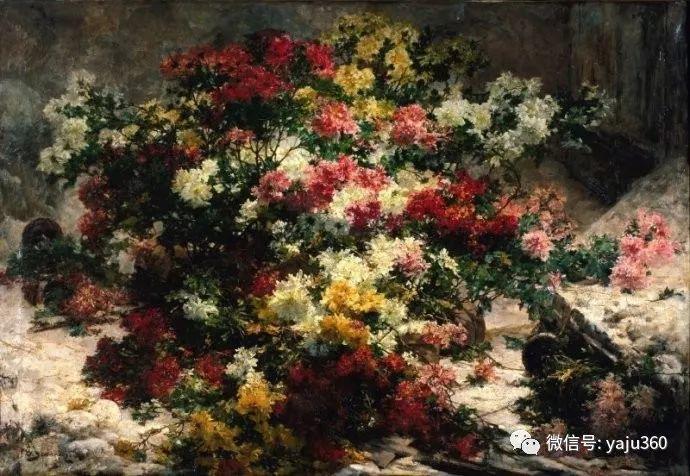 花卉静物 法国画家Georges Jeannin插图29