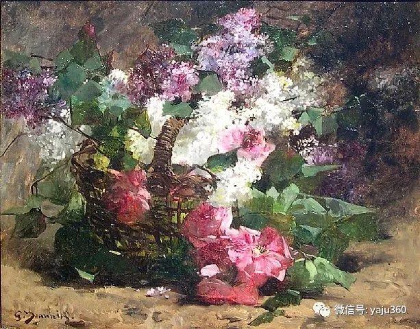 花卉静物 法国画家Georges Jeannin插图31