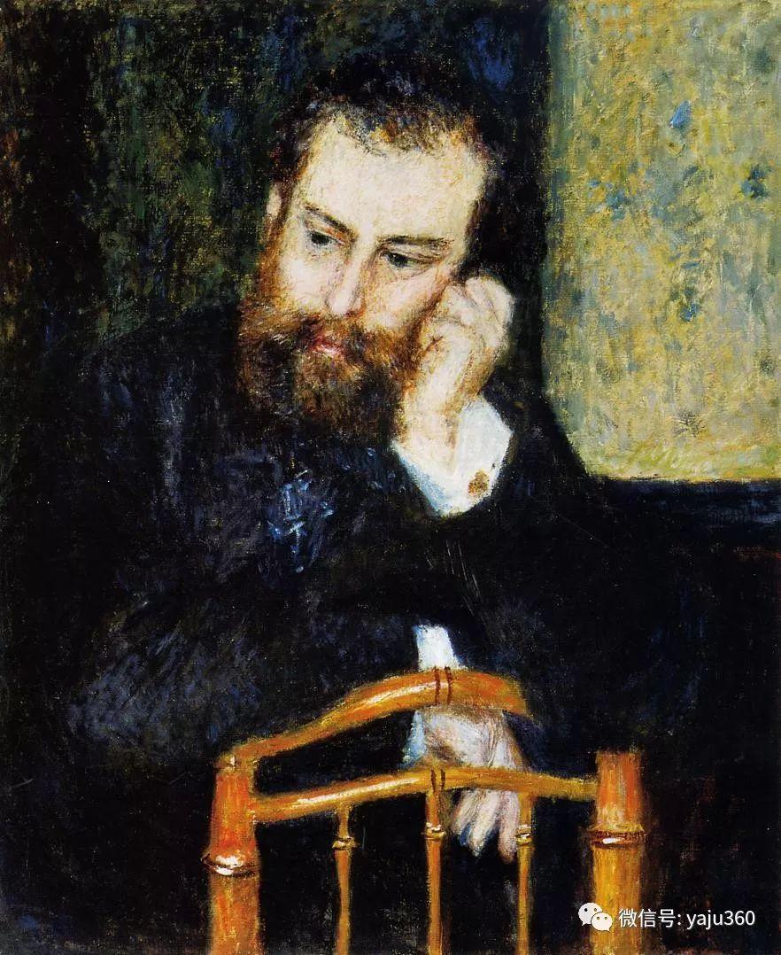 早年与莫奈是同学 法国Alfred Sisley插图1