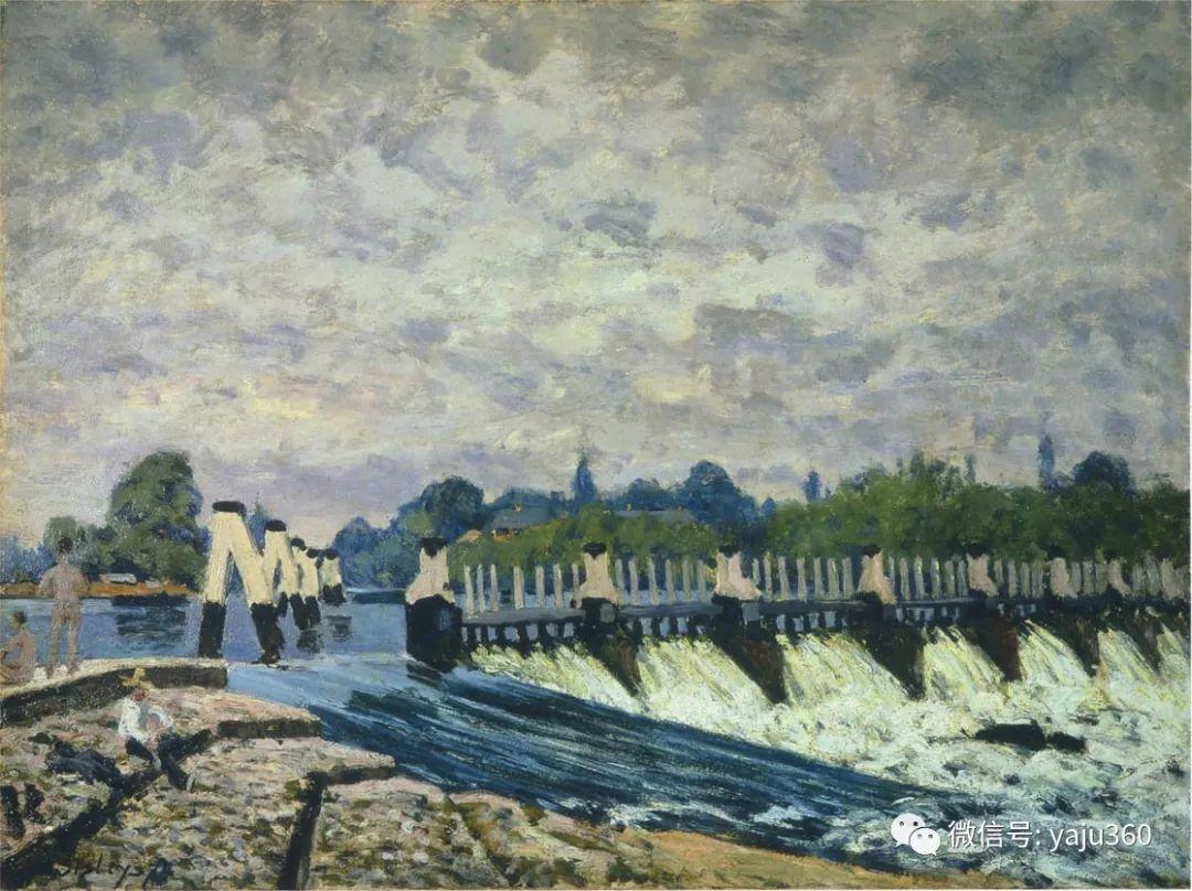 早年与莫奈是同学 法国Alfred Sisley插图3