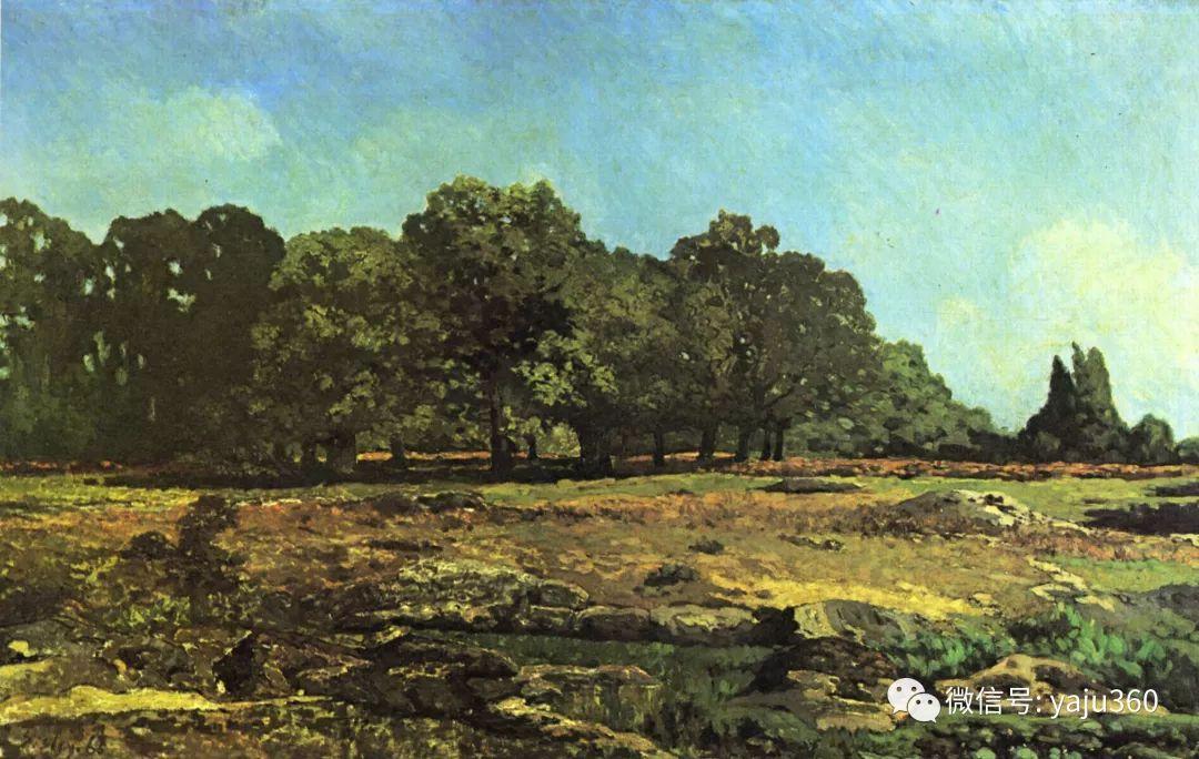 早年与莫奈是同学 法国Alfred Sisley插图19