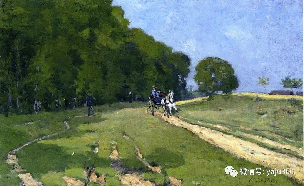 早年与莫奈是同学 法国Alfred Sisley插图37