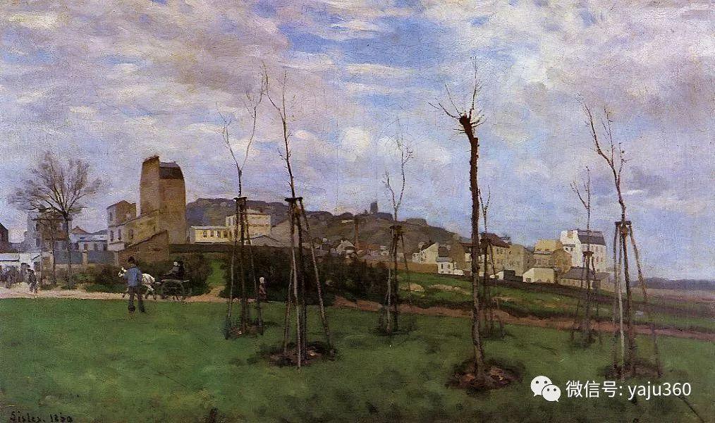 早年与莫奈是同学 法国Alfred Sisley插图39