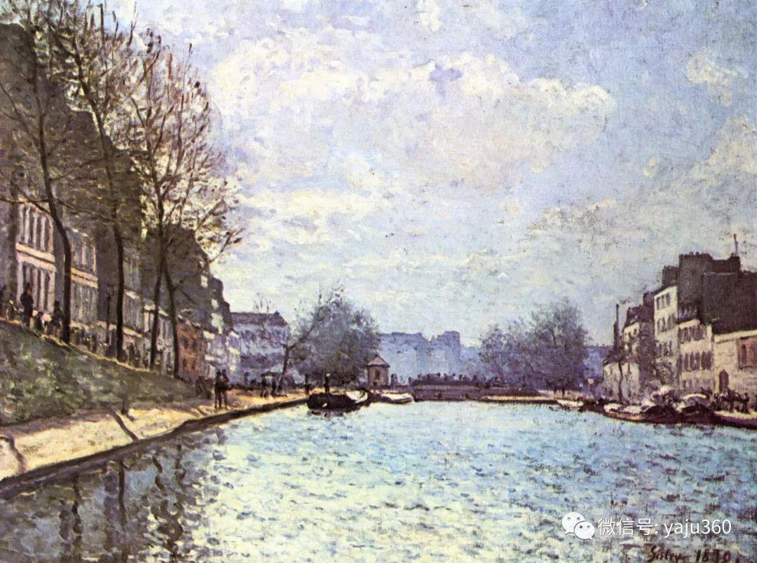 早年与莫奈是同学 法国Alfred Sisley插图47