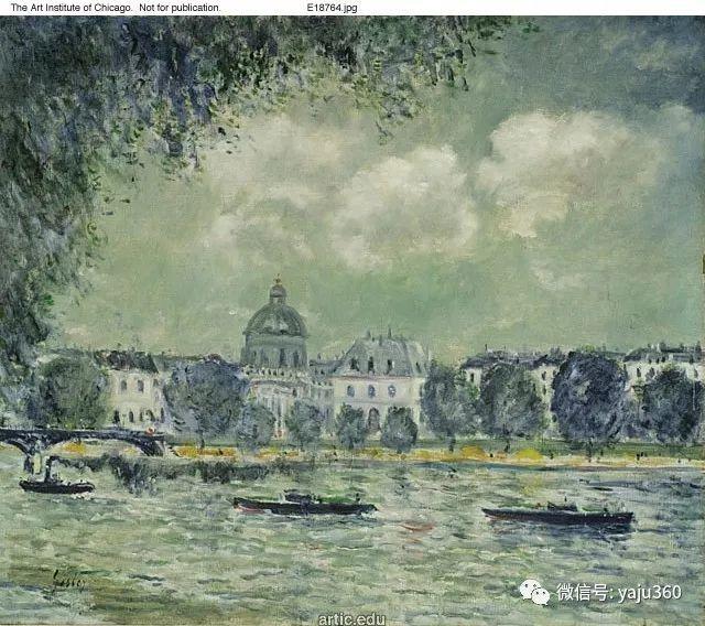 早年与莫奈是同学 法国Alfred Sisley插图49