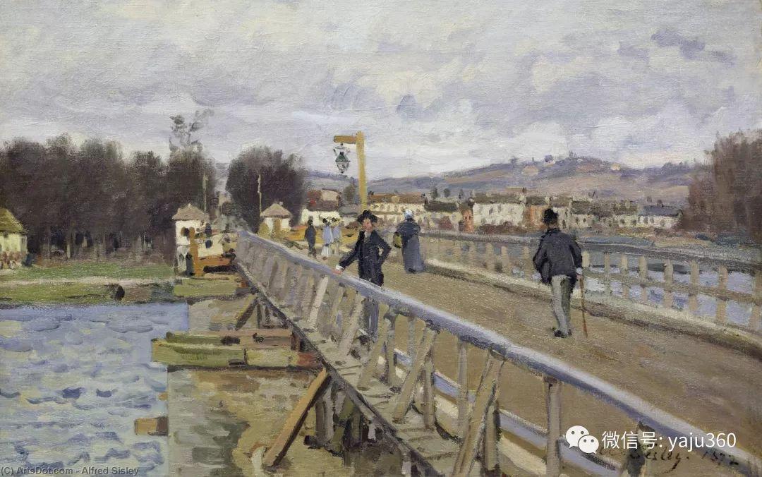 早年与莫奈是同学 法国Alfred Sisley插图51