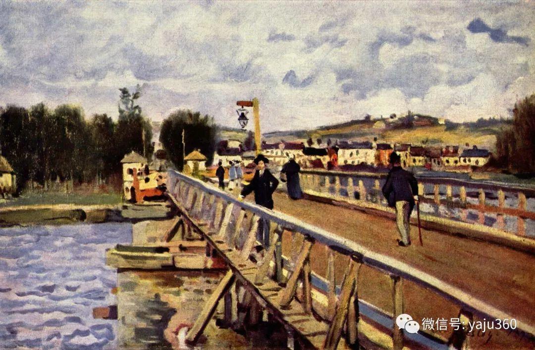 早年与莫奈是同学 法国Alfred Sisley插图63