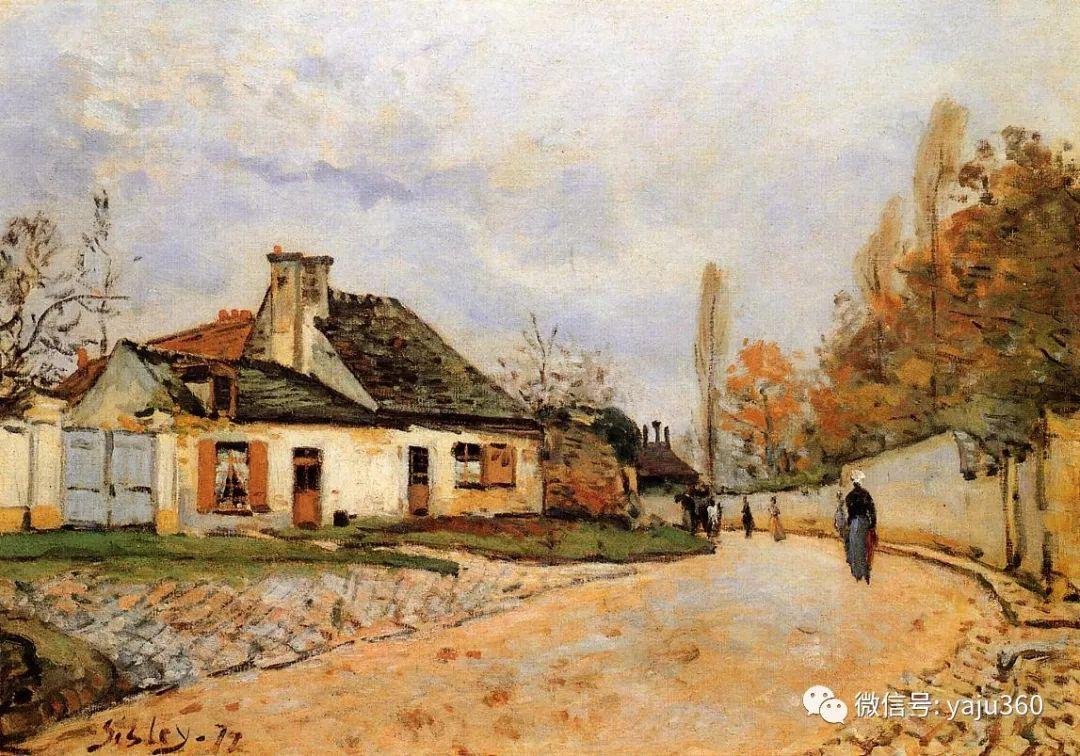 早年与莫奈是同学 法国Alfred Sisley插图67