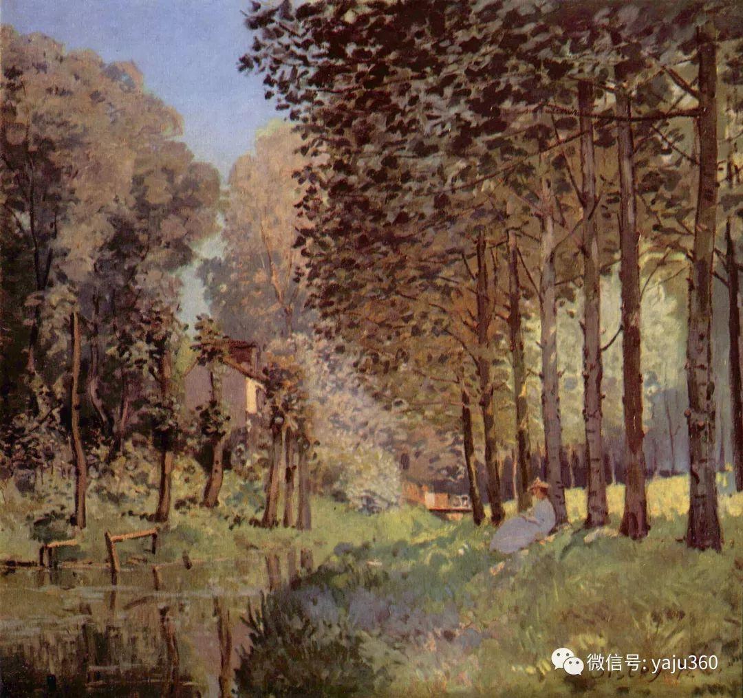 早年与莫奈是同学 法国Alfred Sisley插图91