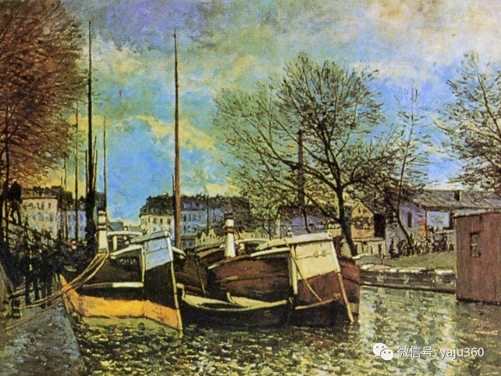 早年与莫奈是同学 法国Alfred Sisley插图95