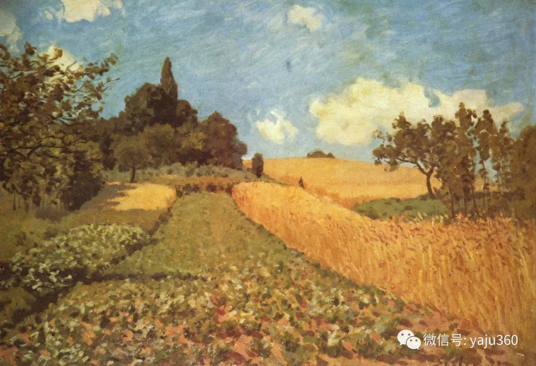 早年与莫奈是同学 法国Alfred Sisley插图105