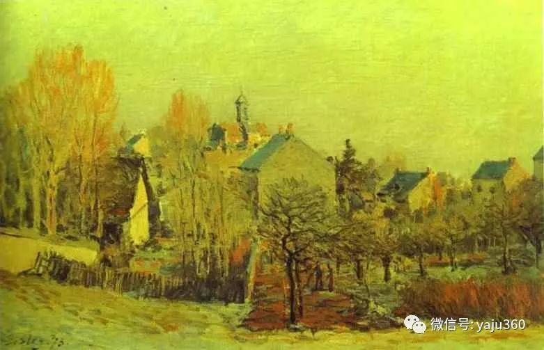 早年与莫奈是同学 法国Alfred Sisley插图109